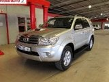 Photo Toyota Fortuner 3.0D 4D 4x4 2011