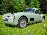 Foto MG MGA coupe 1500 RACER-look 1958 totale...