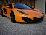 Foto Mclaren german car / mclaren orange