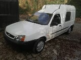 Photo Ford courier utilitaire avec ct ok (feuille rose)