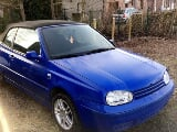 Photo Vw golf 4 cabriolet 1.6i 161000km 1000euros