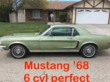 Photo Ford mustang essence 1968