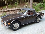 Photo Triumph TR6 1973