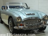 Photo Austin Healey 3000 1966 Cabriolet MK3 Healey Bleu