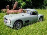 Photo MG MGA coupe 1500 RACER-look 1958 totale...