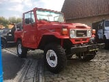 Photo Toyota Land Cruiser occasion Rouge 213000 Km...