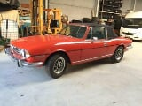 Photo Triumph Stag 1975 pimento