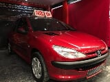 Photo Peugeot 206 occasion Rouge 73000 Km 2003 3.950 eur