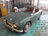 Photo Triumph TR4 occasion Blanc 101 Km 1962 12.850 eur