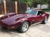 Photo Chevrolet corvette essence 1973