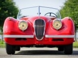 Photo JAGUAR XK120 Essence 1954