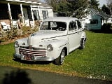 Photo Ford Deluxe 1946