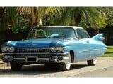Photo Cadillac deville essence 1959