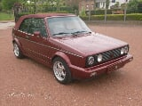 Photo Oldtimer vw golf 1 cabrio automatique lpg...