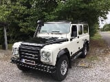 Photo Land rover defender 110 ice and fire