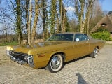 Photo DODGE Polara 2d custom hardtop - 1972