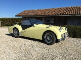 Photo Oldtimer Triumph TR3A overdrive Classic Car