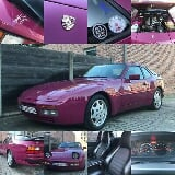 Photo Porsche 944 s2 - Star Ruby 3.0L 4cyl