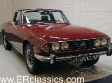 Photo Triumph Stag Cabriolet 1977 Rouge Carmin