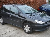 Photo Peugeot 206 occasion Noir 199000 Km 2005 750 EUR