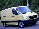 Photo Mercedes-Benz Sprinter occasion Jaune 169000 Km...