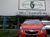 Photo Chevrolet Spark occasion Rouge 28000 Km 2010...