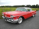 Photo Cadillac deville essence 1958