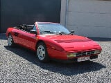 Photo Ferrari Mondial occasion Rouge 42100 Km 1990...