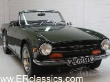 Photo Triumph TR6 Cabriolet 1969 British Racing Green