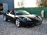 Photo Ferrari 360 Spider 3.6i V8 40v F1 * Nero...