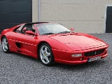 Photo Ferrari F355 occasion Rouge 31300 Km 1995...