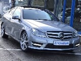 Photo Mercedes coupé c 220 cdi auto. Pack amg int/ext...