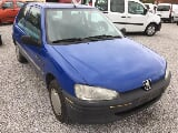 Photo Peugeot 106 occasion Bleu 182000 Km 1997 399 EUR