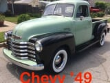 Photo CHEVROLET Pick-up Essence 1949