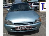 Photo Archive: Toyota Starlet 1999 Blue - Maralal
