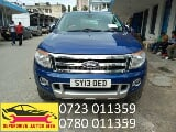 Photo 2013 Blue Manual Ford Ranger
