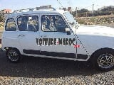 Photo Renault R4 Essence Mod 1984 à Agadir