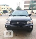 Photo Toyota Highlander 2002 Black