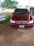 Photo Mercedes-Benz C180 2003 Red