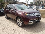 Photo Acura Mdx 2011 Red