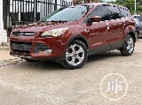 Photo Foreign Used Ford Escape 2015 Orange