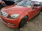 Photo 2011 Red Automatic Mercedes-Benz C350