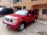 Photo Nissan Pathfinder 2005 Red