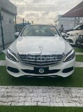 Photo 2015 White Automatic Mercedes-Benz C300