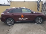 Photo Red lexus rx350 2015