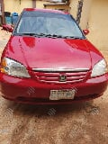 Photo Honda Civic Dx Sedan 2004 Red