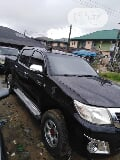 Photo Toyota Hilux 2014 Sr5 Black 4X4 Black