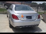 Photo Silver mercedes benz c300 4matic 2015 at lekki...