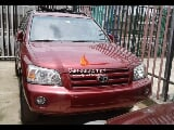 Photo Red toyota highlander 2004