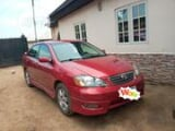 Photo Toyota Corolla 1.4 VVT-i 2006 Red